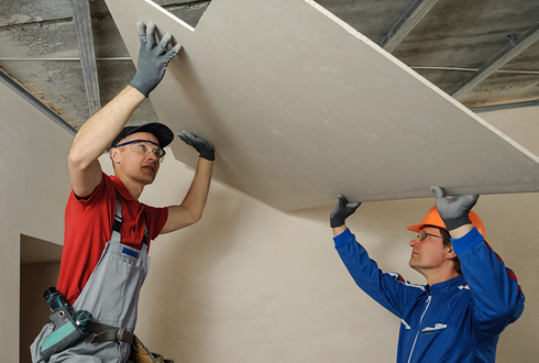 Drywall Installation - RIOS iteriors corp - residential painting company in New York
