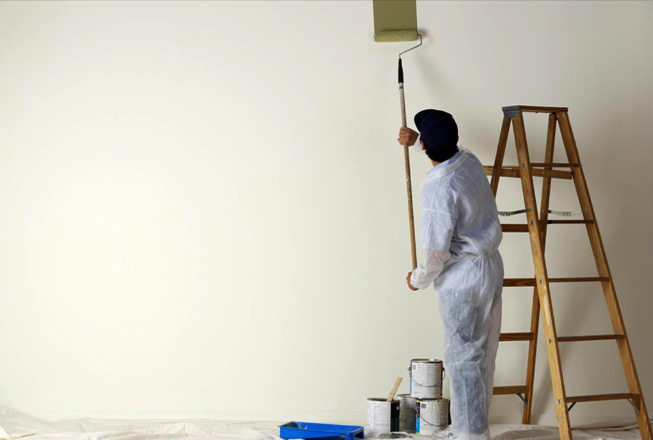 Home interior painting services by RIOS Interiors Corp professionals in New York