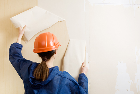 Residential interior painting services by Rios Interiors Corp